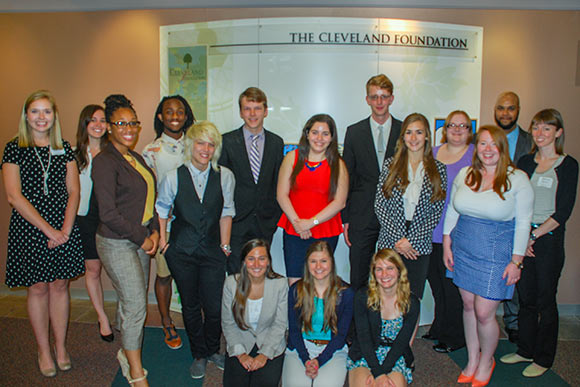 The Cleveland Foundation 2014 summer interns