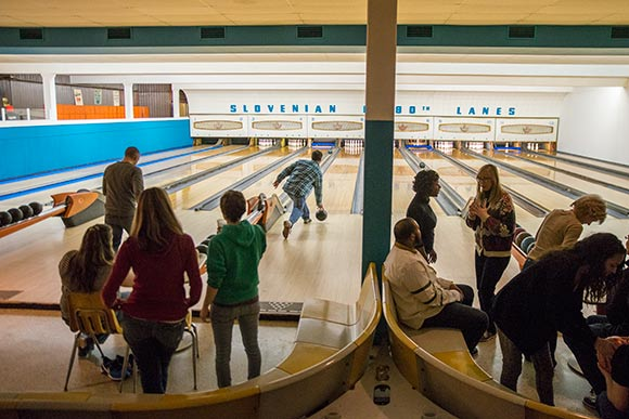 Bowling Alley at The Nash