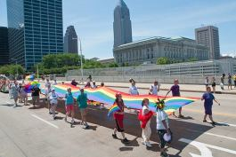 Annual Cleveland Pride Celebration, Parade, Rally and Festival