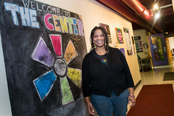 Phyllis Harris, executive director of  the LGBT Center of Greater Cleveland