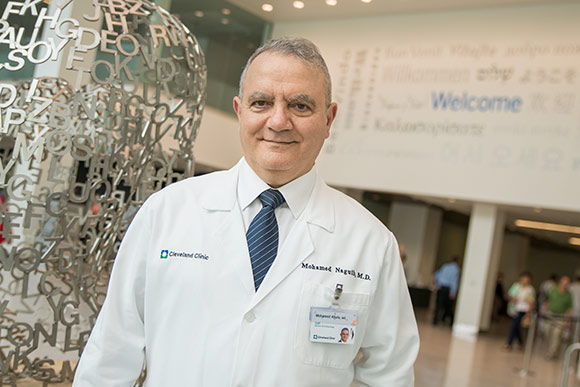 Mohamed Naguib of the Cleveland Clinic's anesthesiology department