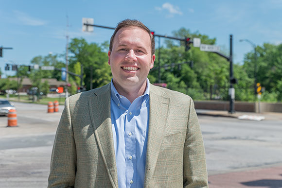 Nick Fedor, Executive Director of the Shaker Heights Development Corporation