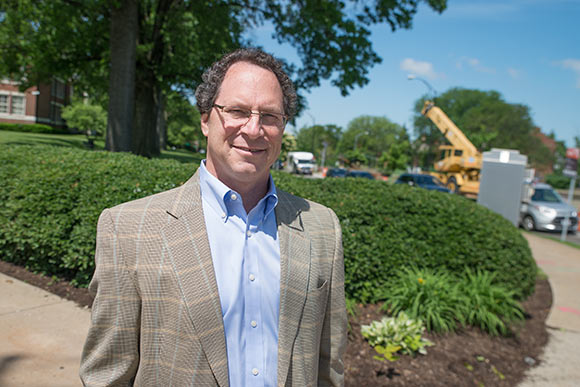 Shaker native Scott Garson, President of the Shaker Heights Development Corporation Board