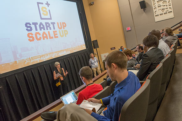 Scaleup Your Startup in the Capitol Auditorium in 2015