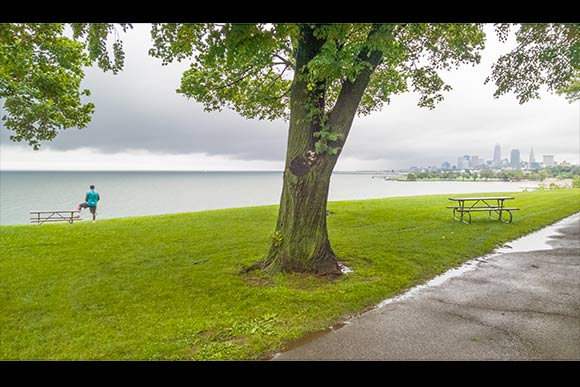Early morning at Edgewater Park