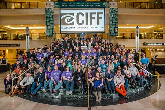 Volunteer Group Photo CIFF 2014