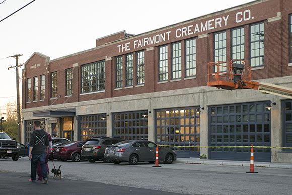 The Fairmont Creamery today