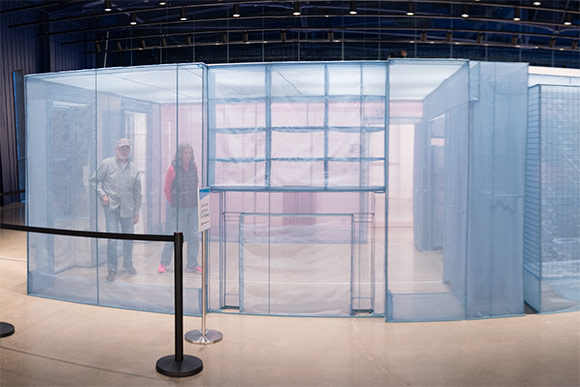Do Ho Suh the current exhibit at MOCA Cleveland