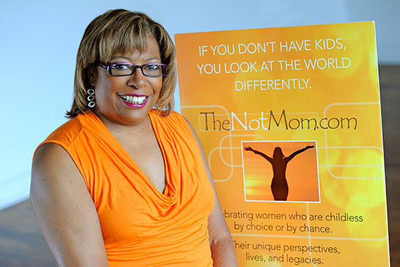 Executive director and founding voice of TheNotMom is Karen Malone Wright