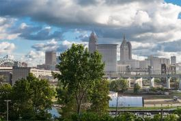Cleveland view from Ohio City