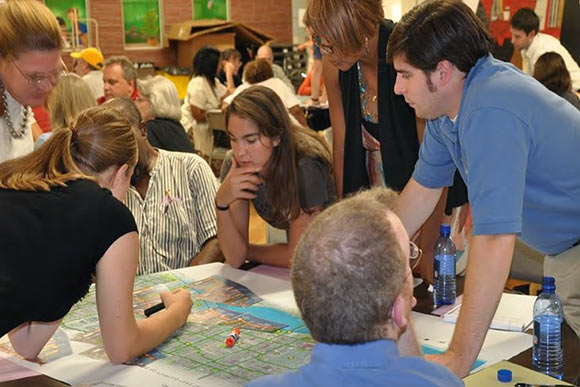 The Eastside Greenway Project community meeting