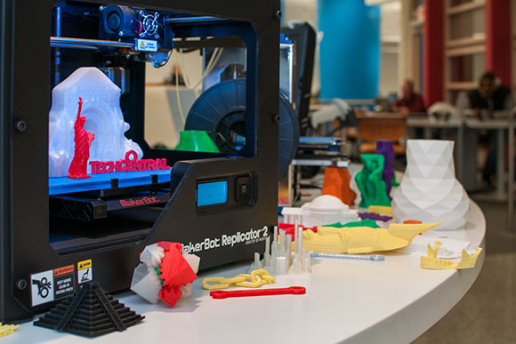 TechCentral 3-D printer