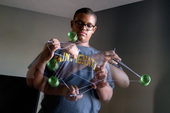 Yo-Yo champ Colin Beckford