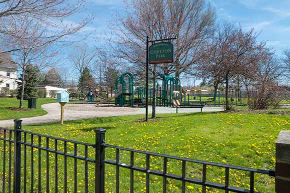 Playground equipment, ball fields make for a family-friendly environment in Chelton Park