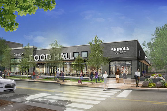22,000 square-foot food hall and retail marketplace, recently named the Orman Building