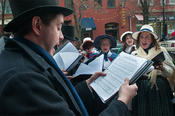 Christmas Carolers in Ohio City