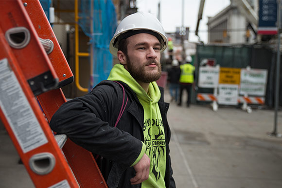 Anthony Reed, Construction Worker