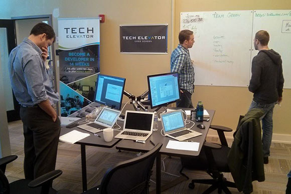 Tech Elevator, an accelerated boot camp-style program that teaches fundamental coding competencies