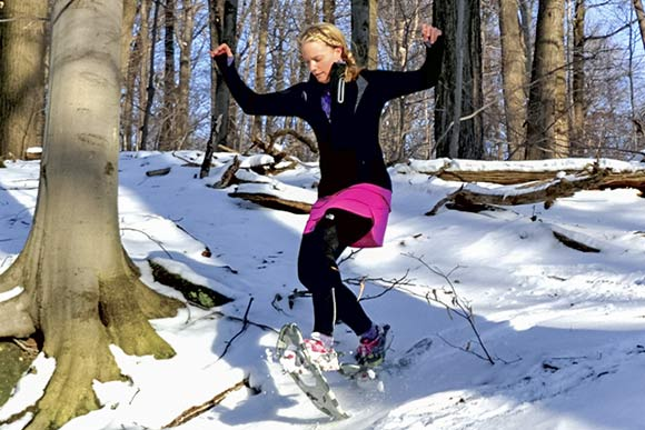 Snowshoeing in the Metroparks