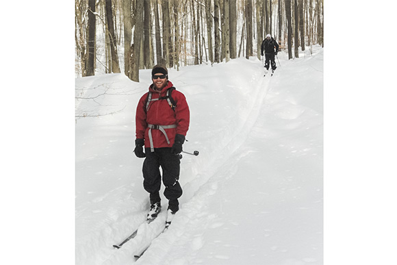 Cleveland Metroparks cross-country skiing trails