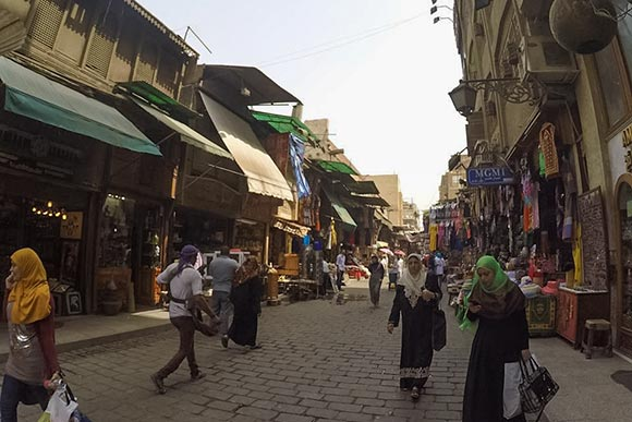 A souq in Cairo, Egypt
