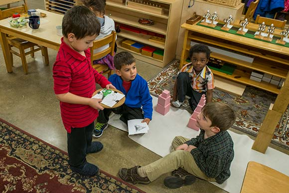 Cleveland Montessori classes at the Alta House