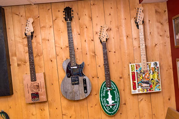 David Lackey guitars