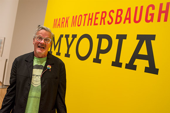 Mark Mothersbaugh's Myopia exhibit  at the Akron Art Museum