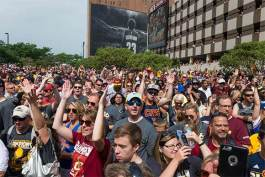 Cleveland Cavaliers 2016 NBA Championship Parade and Rally