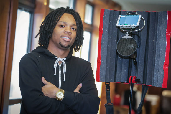 Brandyn Armstrong inventor of the Studio Stick