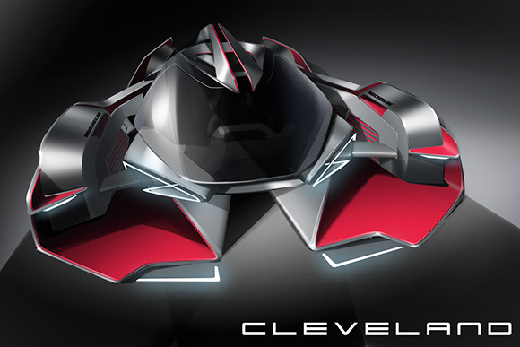 Design for Cleveland Cyclewerks by CIA student  David Porter