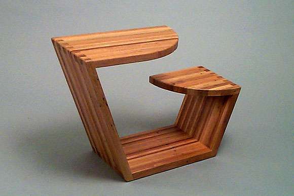 CIA student Carl Kamph - School Desk and Chair for the pallet board challenge