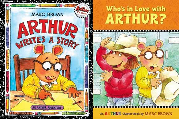 Arthur children�s books series created by 1969 CIA grad Marc Brown