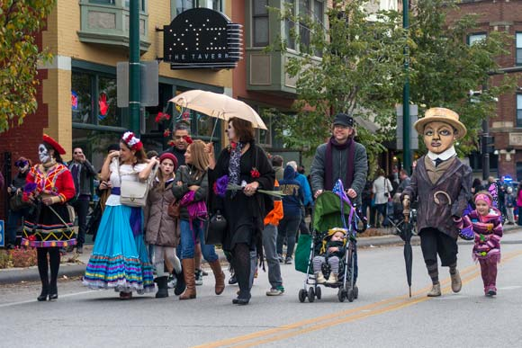 D�a de Muertos 2015 in the Gordon Square Arts District