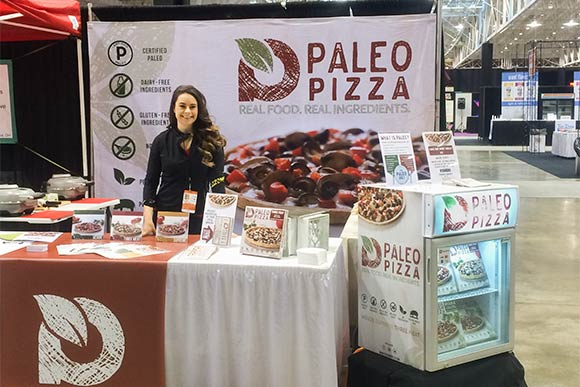 Patricia Urcuyo, co-owner of PaleoMD at the Fabulous Food Show at the IX Center last year