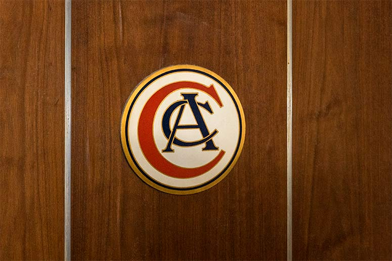 Cleveland Athletic Club still remains on some of the doors