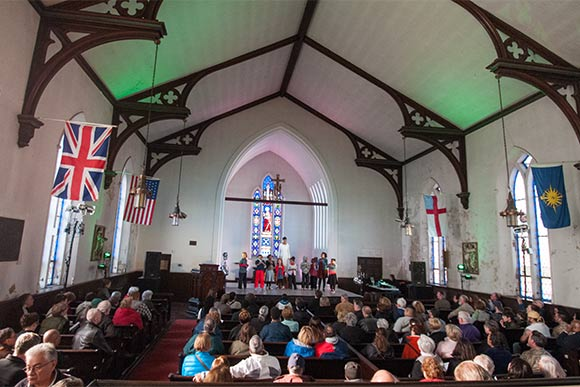 Station Hope performance at St. John's Episcopal
