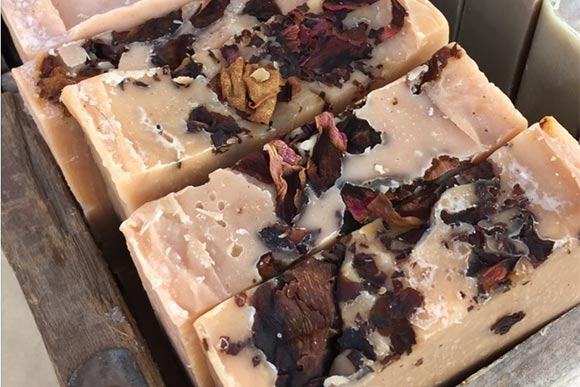 BARR's Bars Egyptian Geranium Rose Soap
