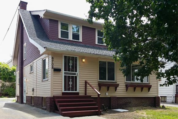 Slavic Village Recovery Project rehabbed home