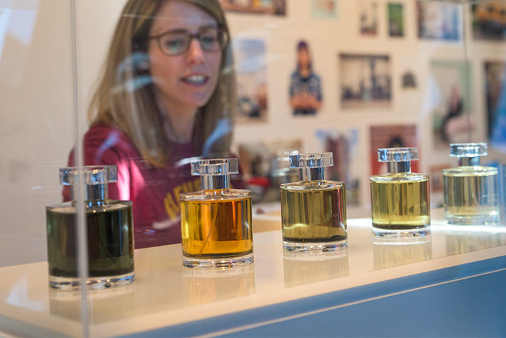 Perfume:A Collection of Air Qualities exhibit by The Institute for New Feeling
