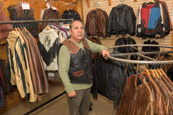 Chuck Perez of TRD Leather
