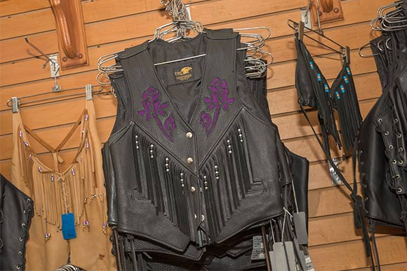 TRD Leather  vests