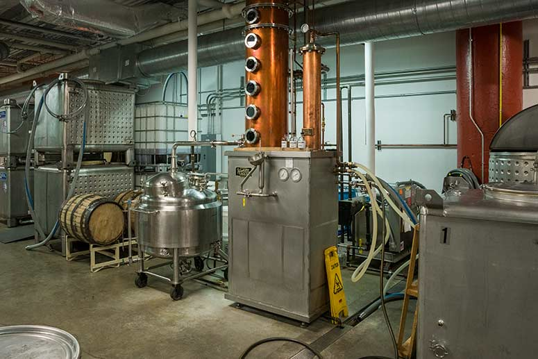 Cleveland Whiskey distillery
