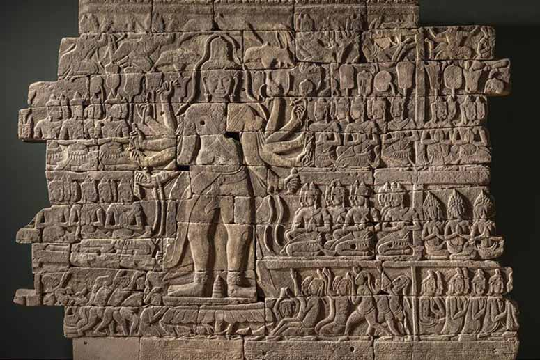 Beyond Angkor: Cambodian Sculpture from Banteay Chhmar