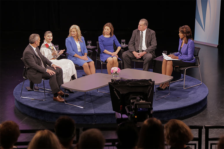 ideastream panel discussion on the possibility of a breast cancer vaccination in September