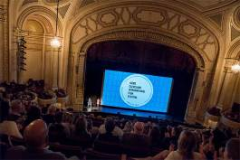 "Opening night film ""The Drummer and the Keeper"" at the Allen Theater in Playhouse Square"