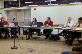 Dozens of local governmental bodies meet year round. Documenters.org plans to post their schedules and minutes in one convenient location online. Here, the Cleveland Heights-University Heights Public Library System meets in 2018.