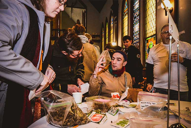 Cleveland Seed Bank 2017 Seed Swap event