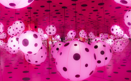 Kusama Infinity Mirrored Room: Dots Obsession - Love Transformed Into Dots
