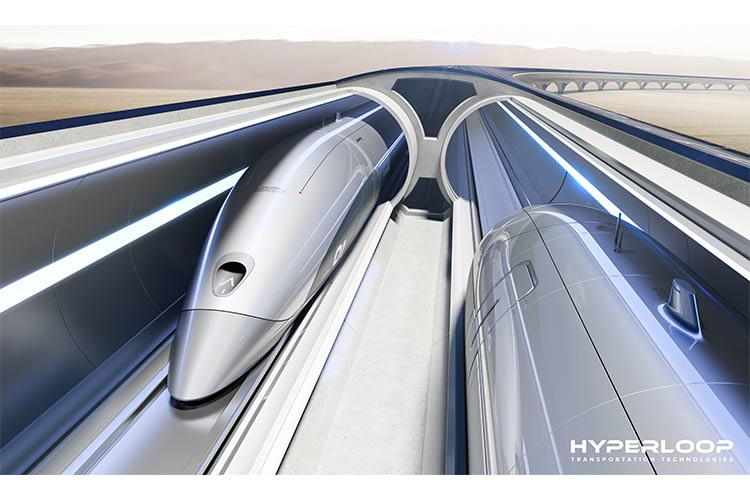 Hyperloop system